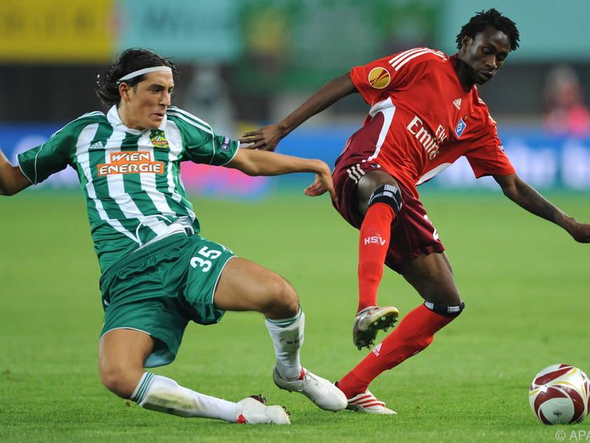 2009 bezwang Rapid den HSV in einer legendären Partie