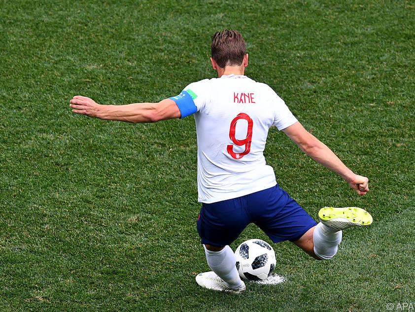 Kane netzte bisher äußerst verlässlich für England ein
