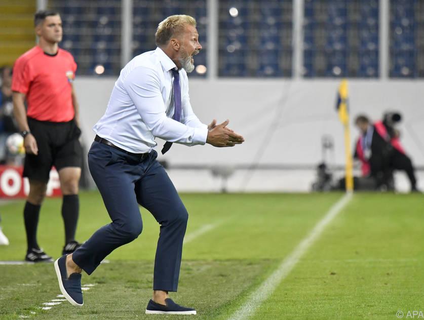 """Austria-Coach Thorsten Fink hofft auf eine """"Blutauffrischung"""""""