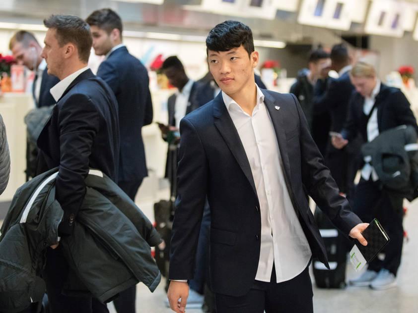 Optimistische RB-Kicker vor dem Abflug nach Marseille
