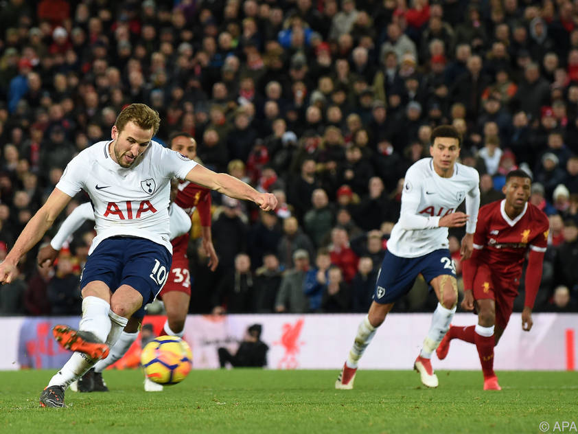 Harry Kane rettet Spurs Remis in Liverpool