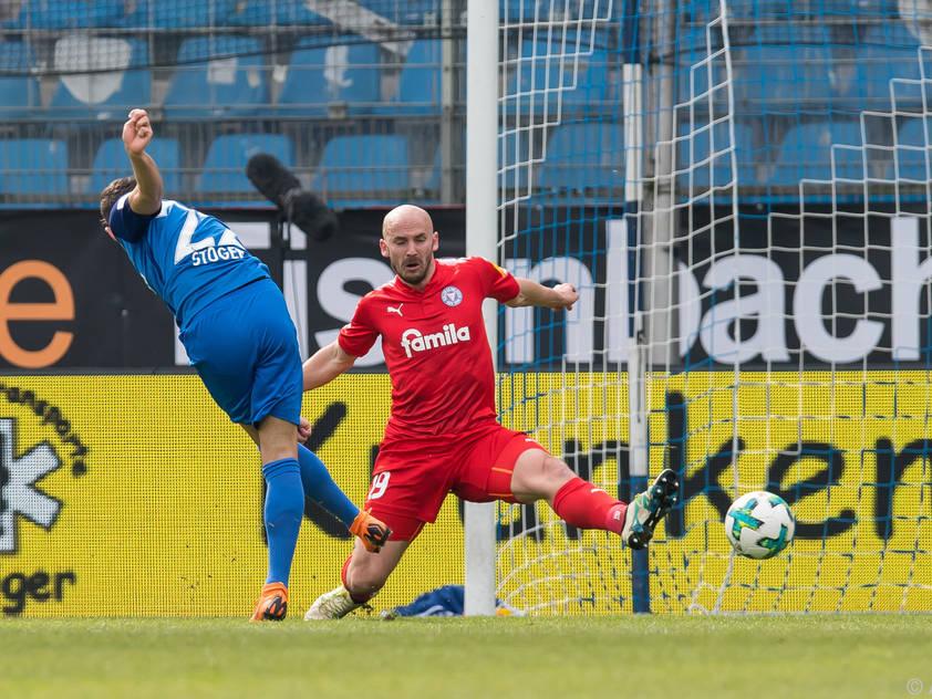 Stöger erzielte den Führungstreffer für die Bochumer