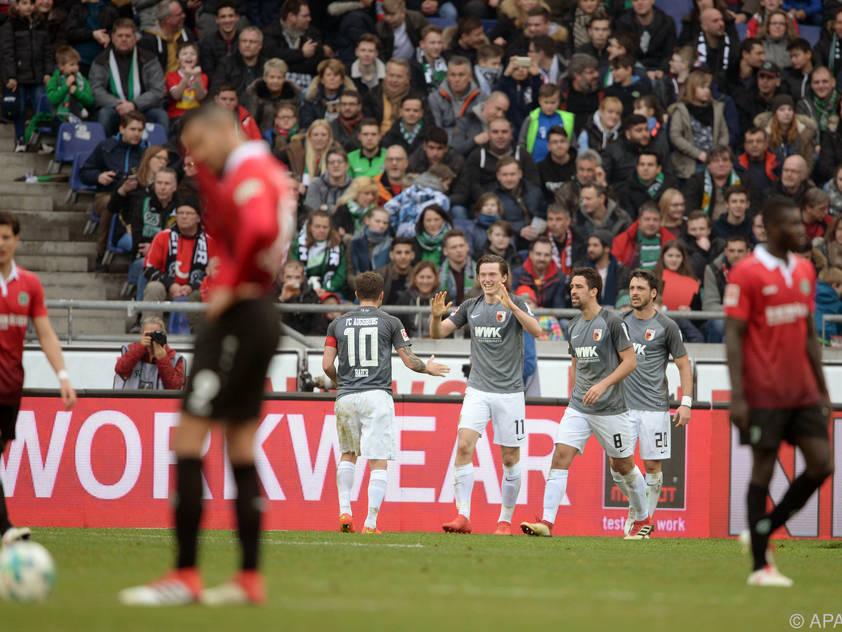 Gregoritsch erfreute die mitgereisten Fans mit zwei Toren