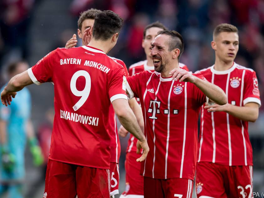 Die Bayern wollen sich abermals vorzeitig zum Meister küren