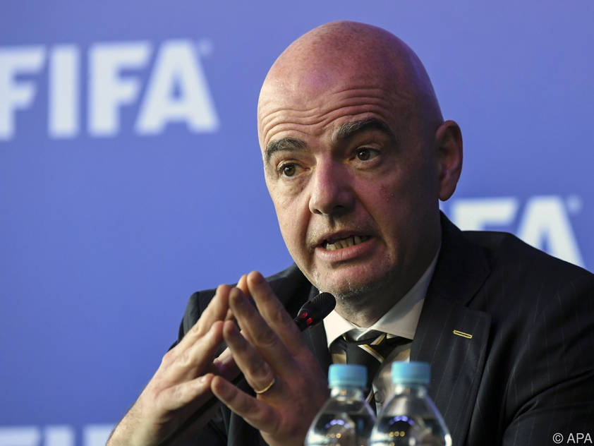 FIFA-Chef Infantino sieht neue Einnahmequelle