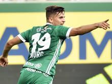 Thomas Murg erzielte den Siegtreffer in Wien-Hütteldorf