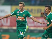 Schobesberger sorgte für den entscheidenden Treffer im Wiener Derby
