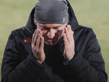 Rapid-Coach Djuricin litt an der Seitenlinie