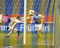 Lukas Grozurek brachte Ball zum 2:0 unter