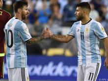 Messi und Agüero sollen Abwehr durcheinander wirbeln