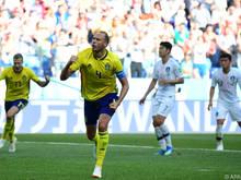Ein Tor reichte den Schweden in einer müden Partie zum Sieg