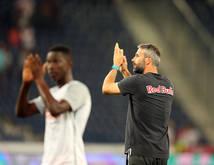 Salzburg-Trainer Marco Rose zeigte sich zufrieden