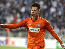 Dominik Prokop glänzte mit zwei Toren