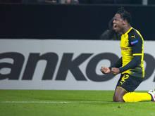 Michy Batshuayi hat in Dortmund voll eingeschlagen