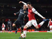 Arsenal machte mit ZSKA kurzen Prozess