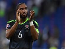 Williams erreichte mit Wales bei der EM das Halbfinale