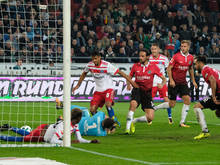 Martin Harnik scorte das 1:0 für Hannover