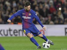 Lionel Messi ist wieder gefragt