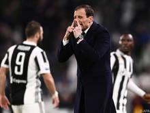 Allegri will sich gegen den Aufsteiger Ferrara nicht aufregen