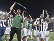 Juve feiert den siebenten Scudetto in Folge