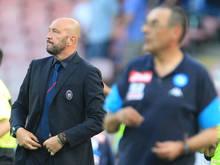 Enttäuschung für Crotone-Coach Zenga