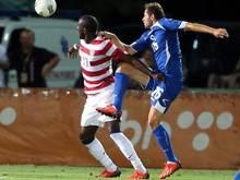 Jozy Altidore (l) erzielte drei Treffer für die USA gegen Bosnien-Herzegowina. Foto: Fehim Demir