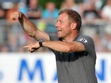 Trainer Frank Kramer steht mit Greuther Fürth in der nächsten Runde. Foto: Stefan Puchner