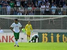 Werder Bremen scheitert erneut in der ersten Pokalrunde. Foto: Oliver Dietze