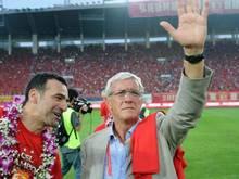 Guangzhou Evergrande wird vom früheren italienischen Weltmeister-Coach Marcello Lippi trainiert