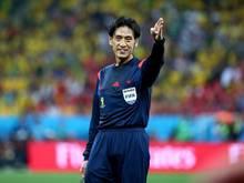 Schiedsrichter Yuichi Nishimura sorgte bei Kroatiens Elf für Unverständnis und Zorn. Foto: Diego Azubel