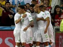 Dank des 1:1 gegen Russland steht Algerien zum ersten Mal im WM-Achtelfinale