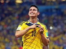 Kolumbiens James Rodriguez verzückt die Fußball-Welt. Foto: Paolo Aguilar