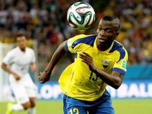 Enner Valencia machte bei der WM auf sich aufmerksam