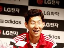 Der Südkoreaner Heung-Min Son weilt mit Bayer Leverkusen in seiner Heimat