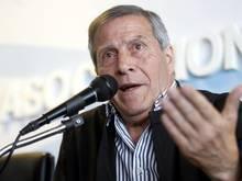 Oscar Tabarez soll Uruguay zur Weltmeisterschaft 2018 in Russland führen