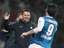 Darmstadt-Trainer Dirk Schuster kann vom Leipziger Etat nur träumen