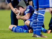 Christian Fuchs hat sich am Auge verletzt. Foto: Sven Hoppe