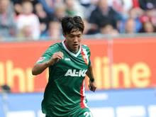 Jeong-Ho Hong konnte wegen einer Sprunggelenksblessur nicht mit der Mannschaft trainieren