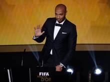 Thierry Henry trug 123 Mal das Trikot der «Les Bleus»