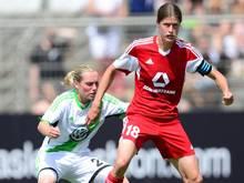Kerstin Garefrekes (r.) verlängerte in Frankfurt bis zu ihrem Karriereende