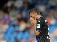 Edmond Kapllani wird dem FSVFrankfurt für drei Spiel fehlen