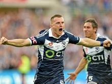 Besart Berisha schoss Melbourne Victory zur australischen Meisterschaft