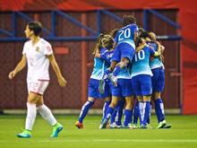 Die Brasilianerinnen besiegte Spanien mit 1:0