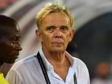 Volker Finke wurde von den Zuschauern kritisiert:«Finke go home!»
