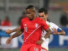 Der Schalker Jefferson Farfán spielt für Peru bei der Copa América