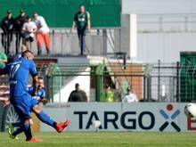 Mahir Saglik traf für Paderborn per Elfmeter zum 2:1