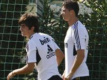 Enzo Zidane trainierte schon mit Cristiano Ronaldo