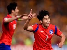 Heung-min Son erzielte gleich drei Treffer