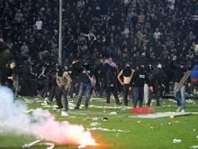 PAOK-Anhänger hatten am 2. März gegen Olympiakos für einen Spielabbruch gesorgt. Foto:Sotiris Barbarousis