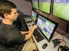 Beim Spiel Italien gegen Deutschland wurde ein Video-Schiedsrichter eingesetzt
